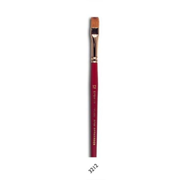 Kryolan Make-Up Penseel Plat 12