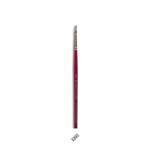 Kryolan Make-up Brush Plat 2
