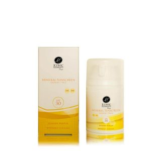Iconic Elements Mineral Sunscreen SPF30 Gezicht